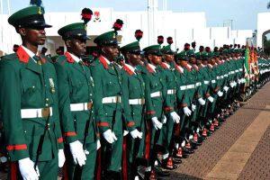 nigerian army ssc ranks