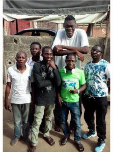Tallest Man in Nigeria Biography